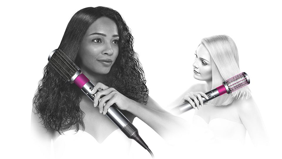 X-ray image inside Dyson Airwrap™ hair styler.