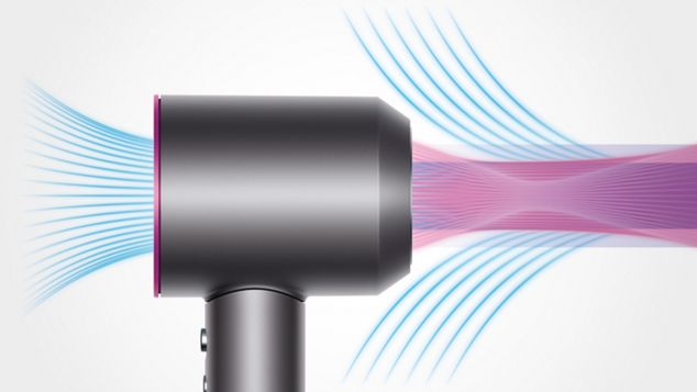 Hair dryer air multiplier technology