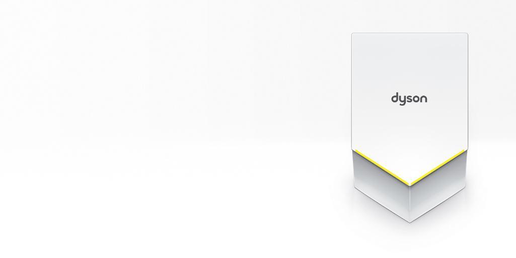 dyson airblade v white hand dryer - Dyson Airblade V