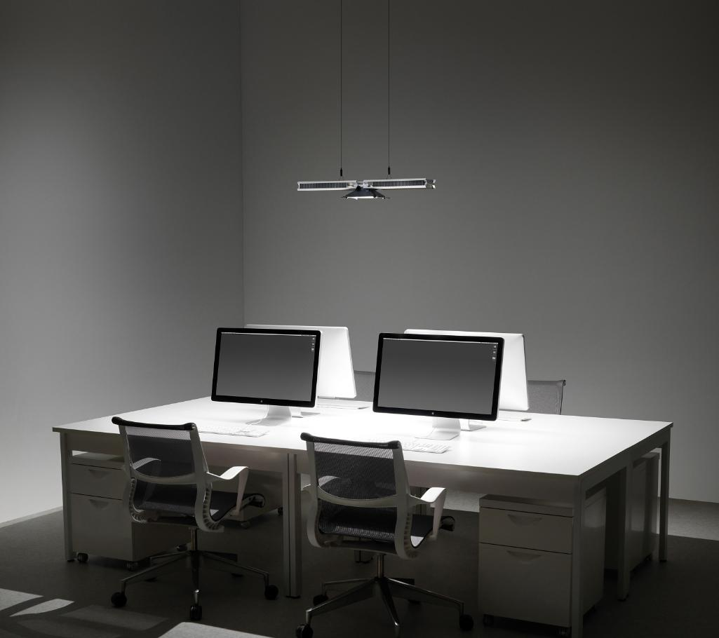 Cu Beam Down Light Over Desks