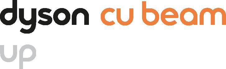 Dyson Cu-Beam Up suspended light motif