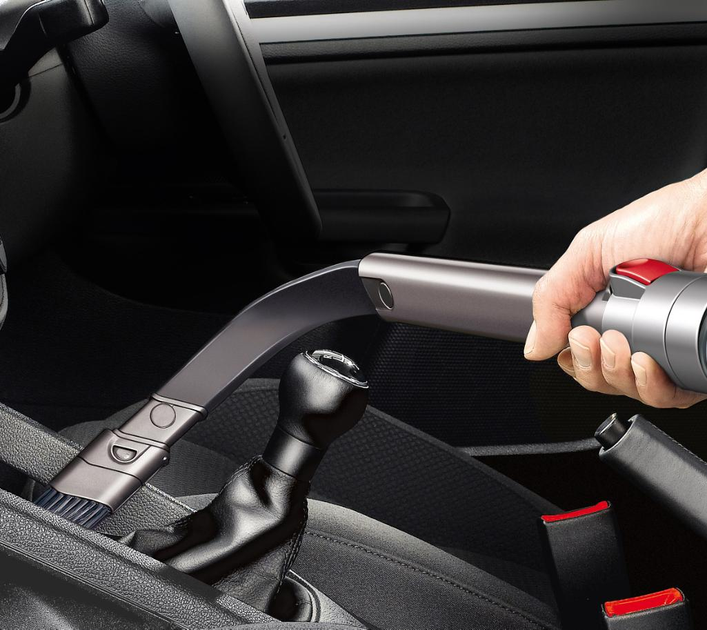 Flexi Crevice Tool Cleaning Inside Car
