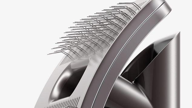 Groom tool bristles