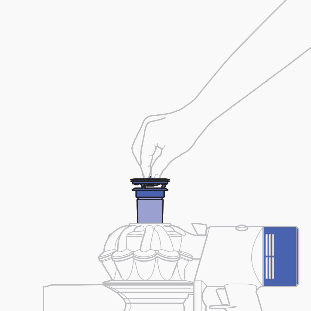 Replacing Washing And Cleaning Dyson Filters