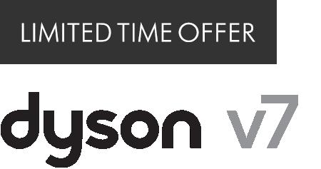 Limited time offer dyson v7 logo
