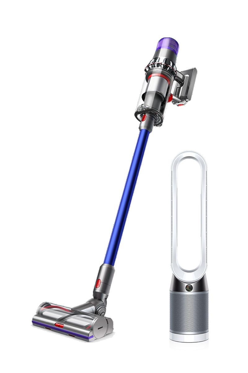 حزمة دايسون لمنزل أكثر صحة ونظافة: Dyson V11 Absolute أزرق + Dyson Pure Cool Advanced