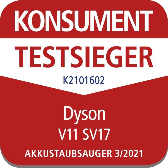 Dyson V11 ist Konsument Testsieger