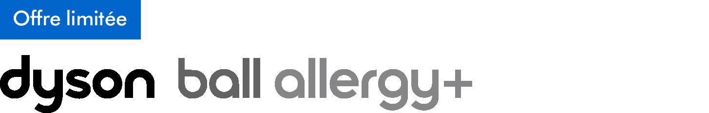 Logo Dyson Ball Allergy +