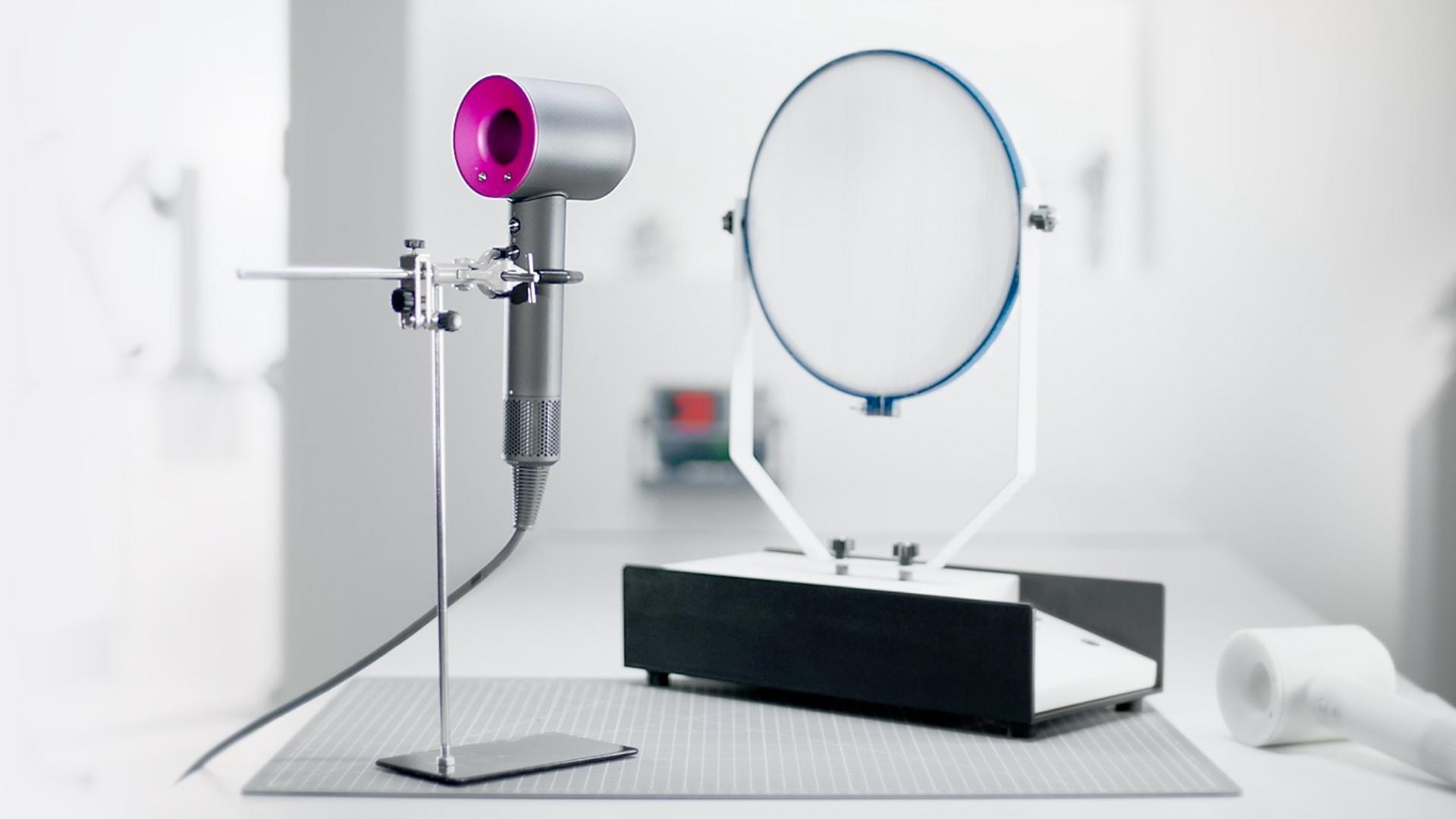 Dyson supersonic in laboratory.