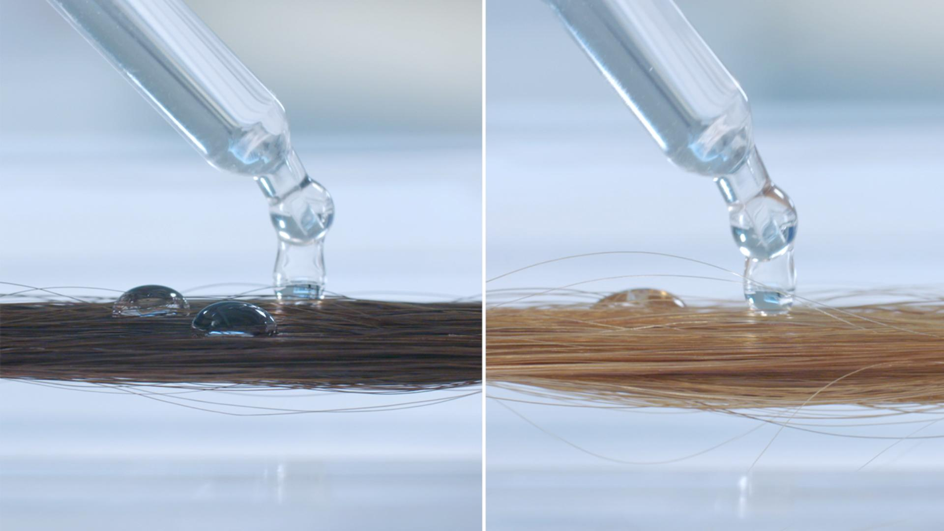 Learn how damaged hair absorbs water more quickly than healthy hair, which can weaken it.