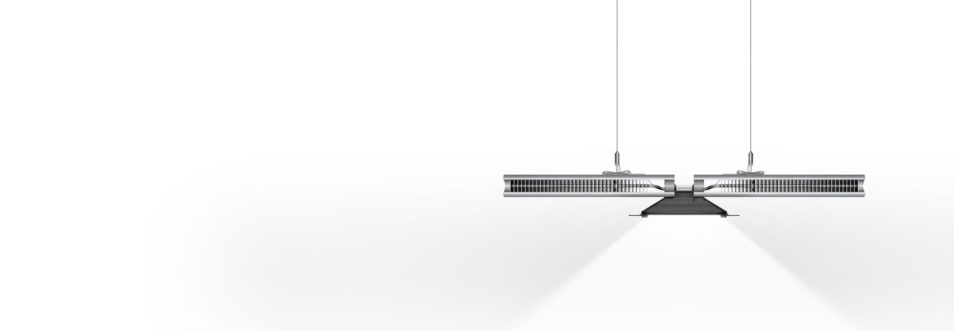 Dyson Cu-Beam Down suspended light