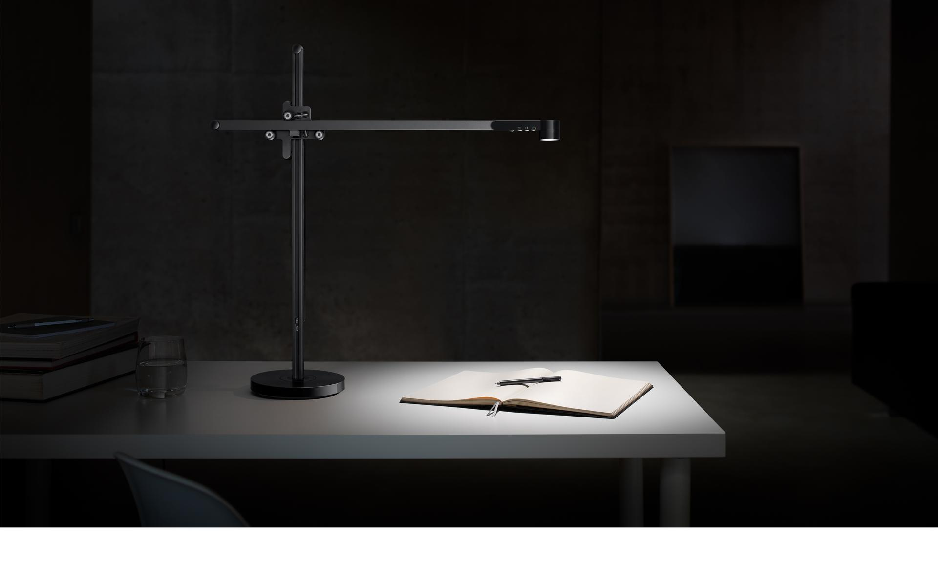 Dyson Lightcycle task light on a desk