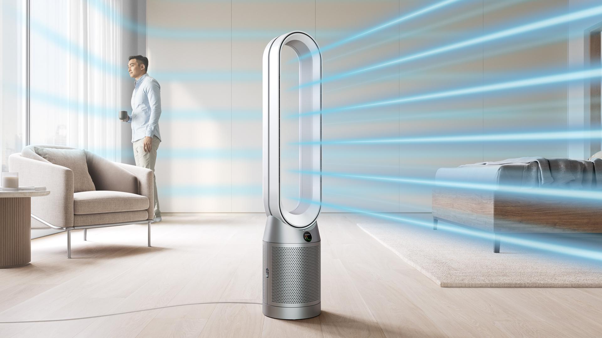 Čistička vzduchu s teplovzdušným ventilátorem Dyson Purifier Cool™
