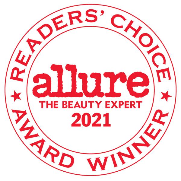 2021 Allure Readers' Choice Breakthrough Award Winner