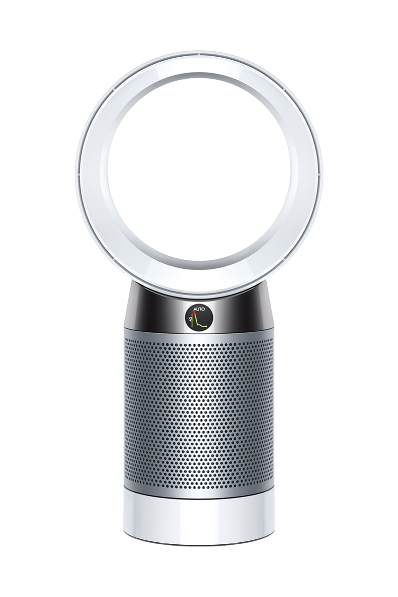 Dyson Pure Cool™ Purifying Desk Fan DP04 (White/Silver)