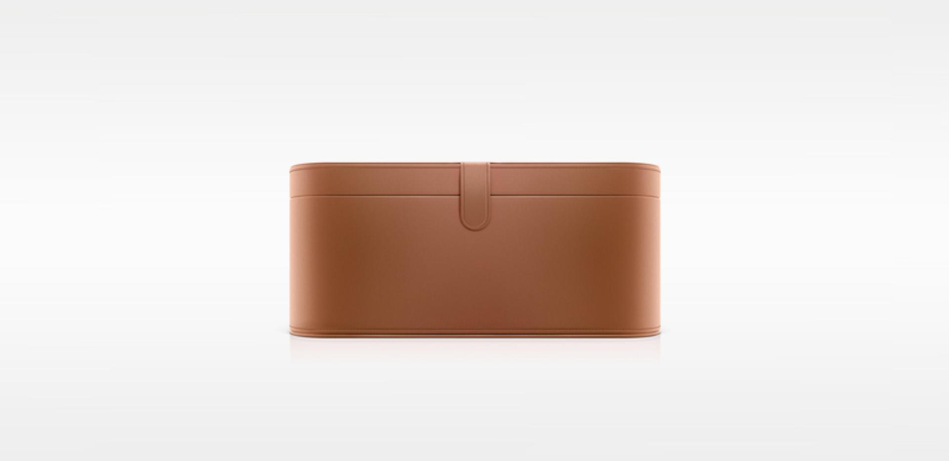 Tan storage case