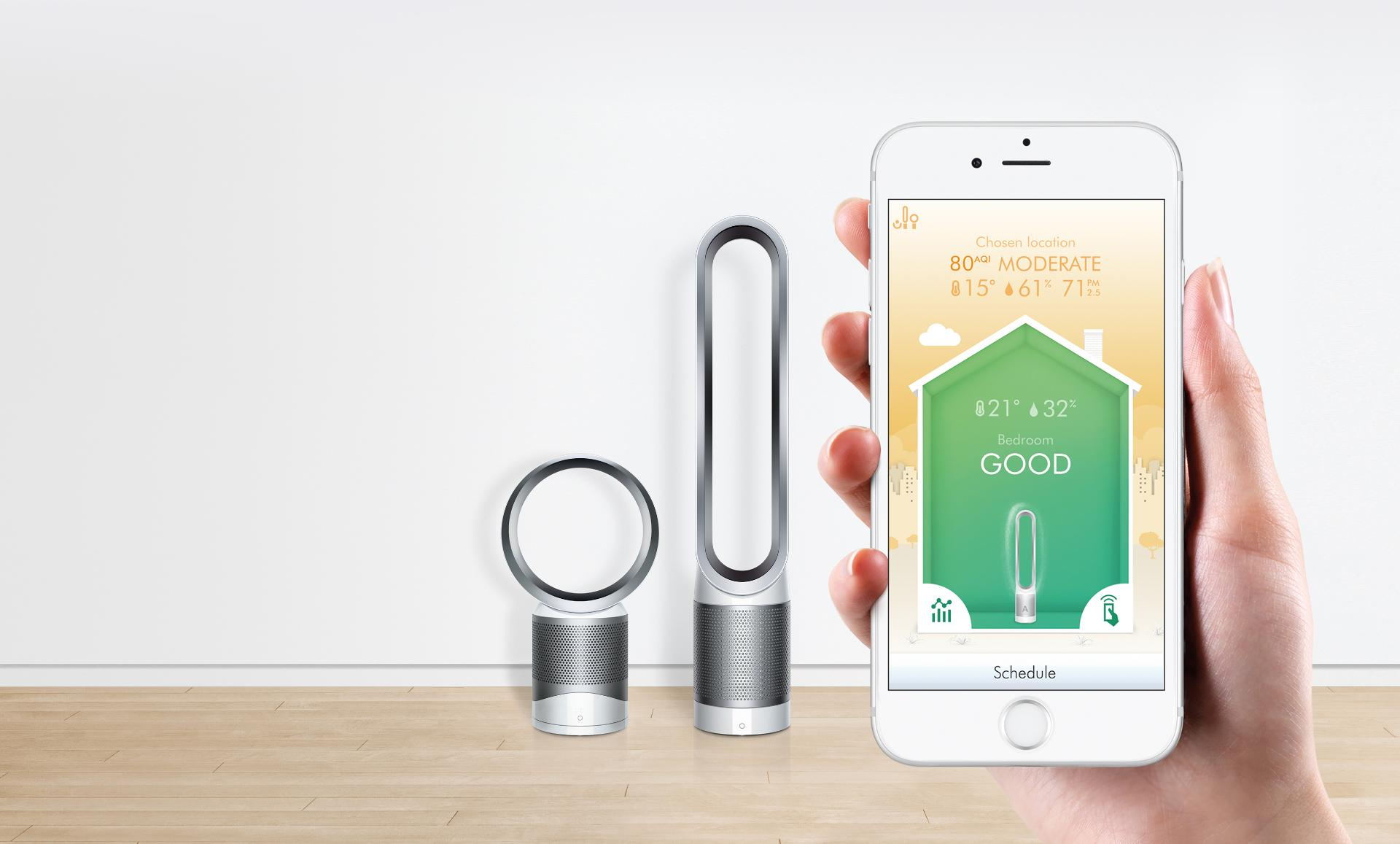 Dyson Link App | Dyson New Zealand Pure Cool Linkᵀᴹ Air Purifiers