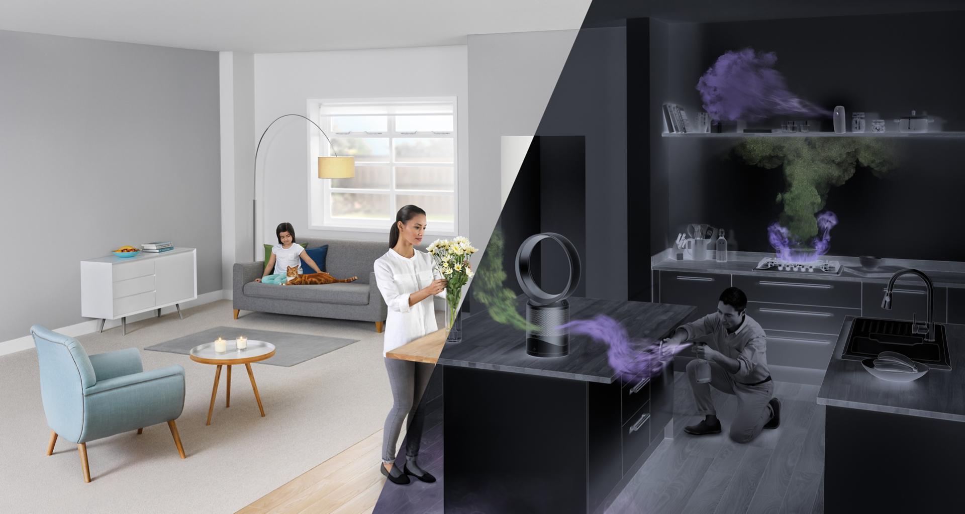 Dyson TP03 is a home air purifier