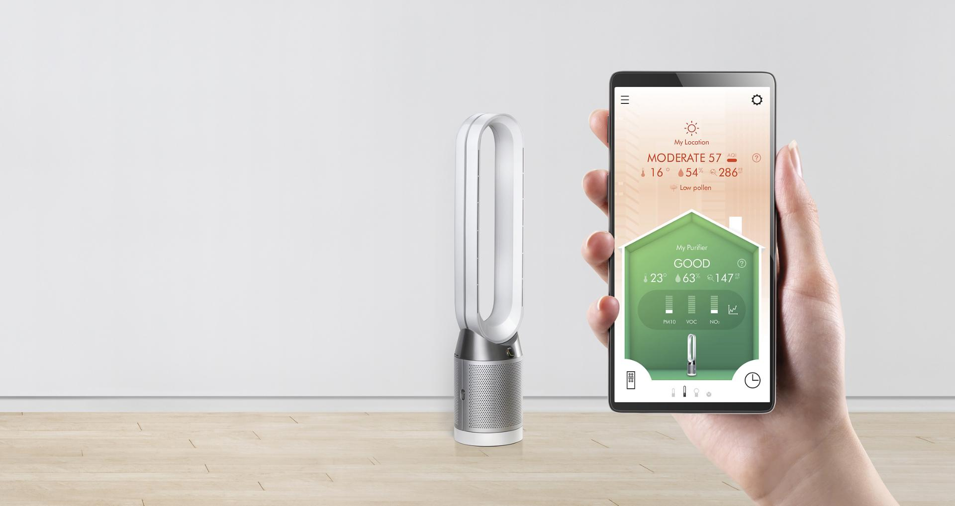 Dyson pure cool tower link app