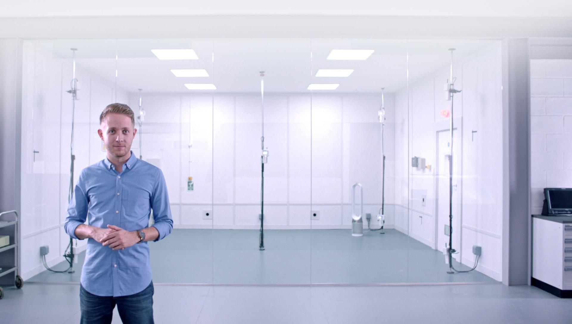 Dyson Pure Hot+Cool Havayı Temizleyen Fanı test etme