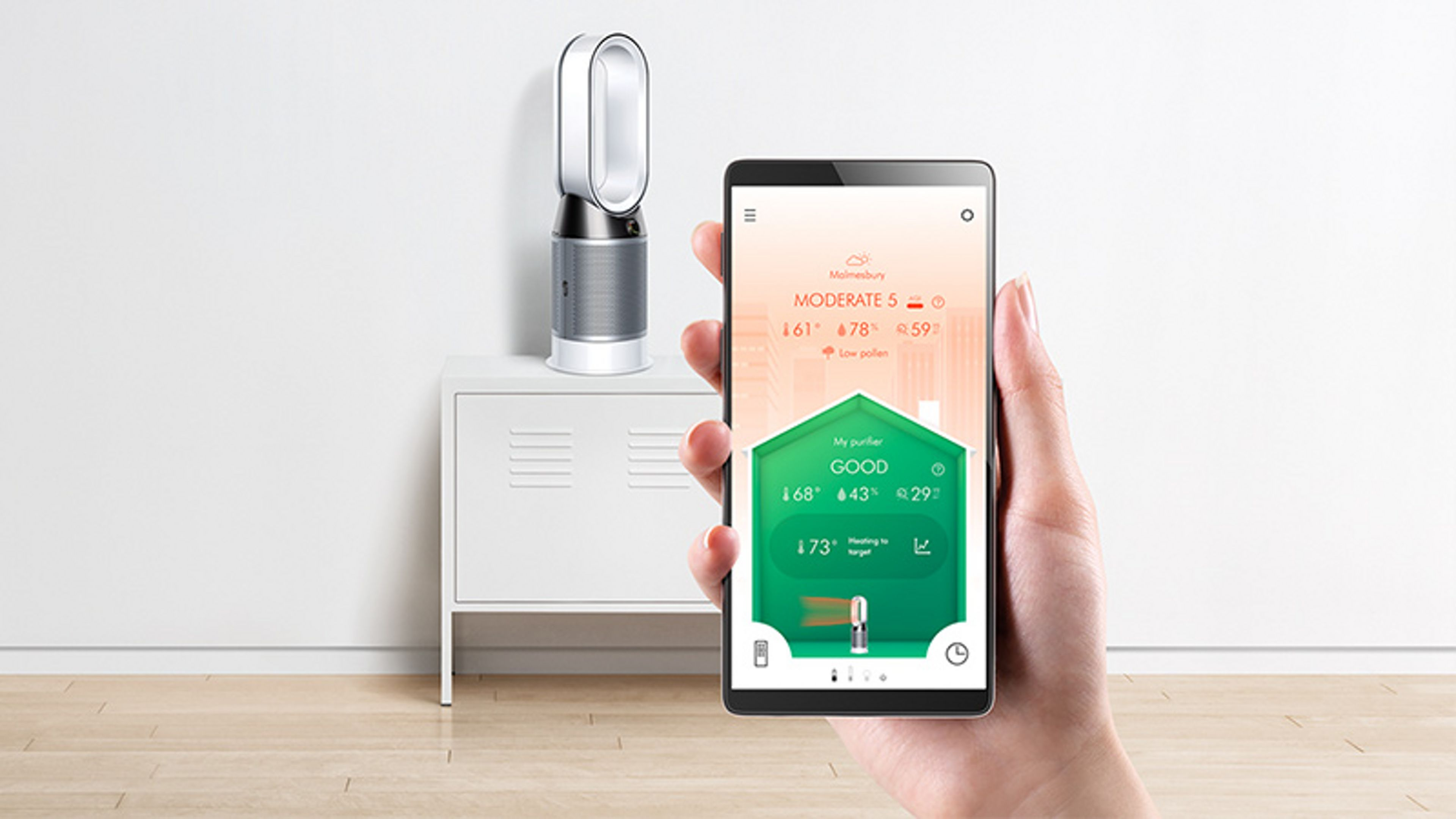Demonstration of the Dyson Link app