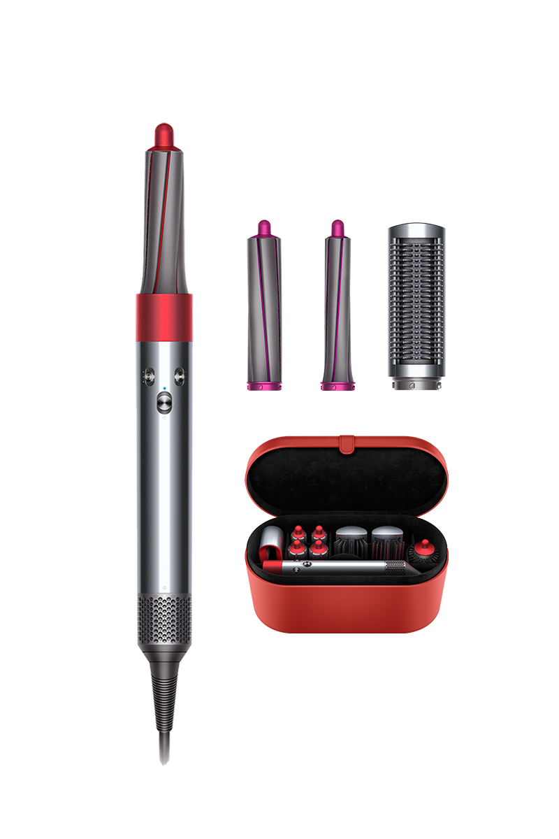 Dyson Airwrap™ styler Complete (Nickel/Red)