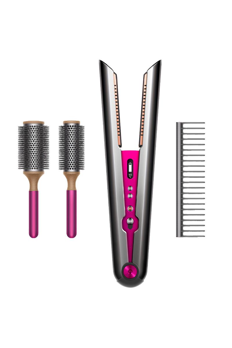 Dyson Corrale™ hair straightener (Black Nickel/Fuchsia)