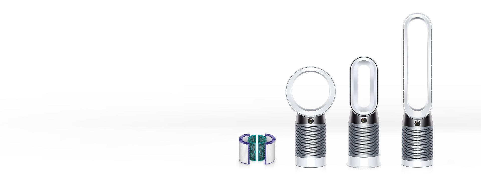 Dyson air purifiers range
