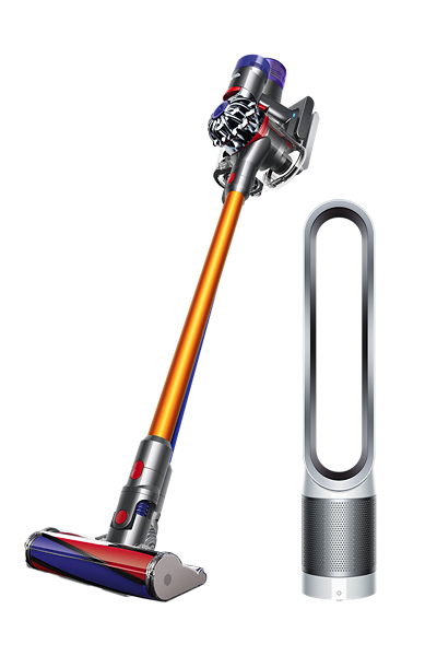 Dyson V8 Absolute+ with Dyson Pure Cool Link™ Tower (White/Silver)