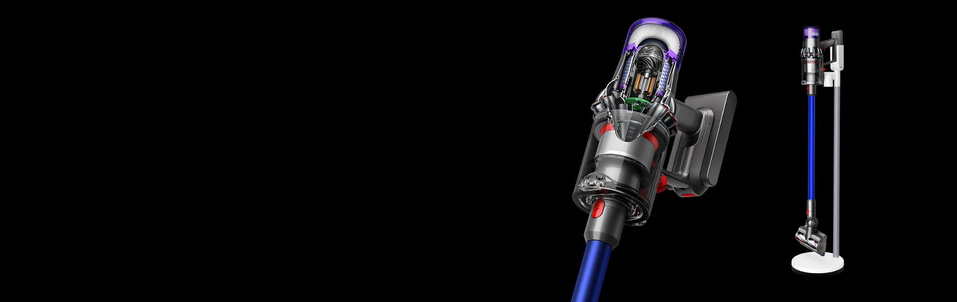 Person changing mode of Dyson V11