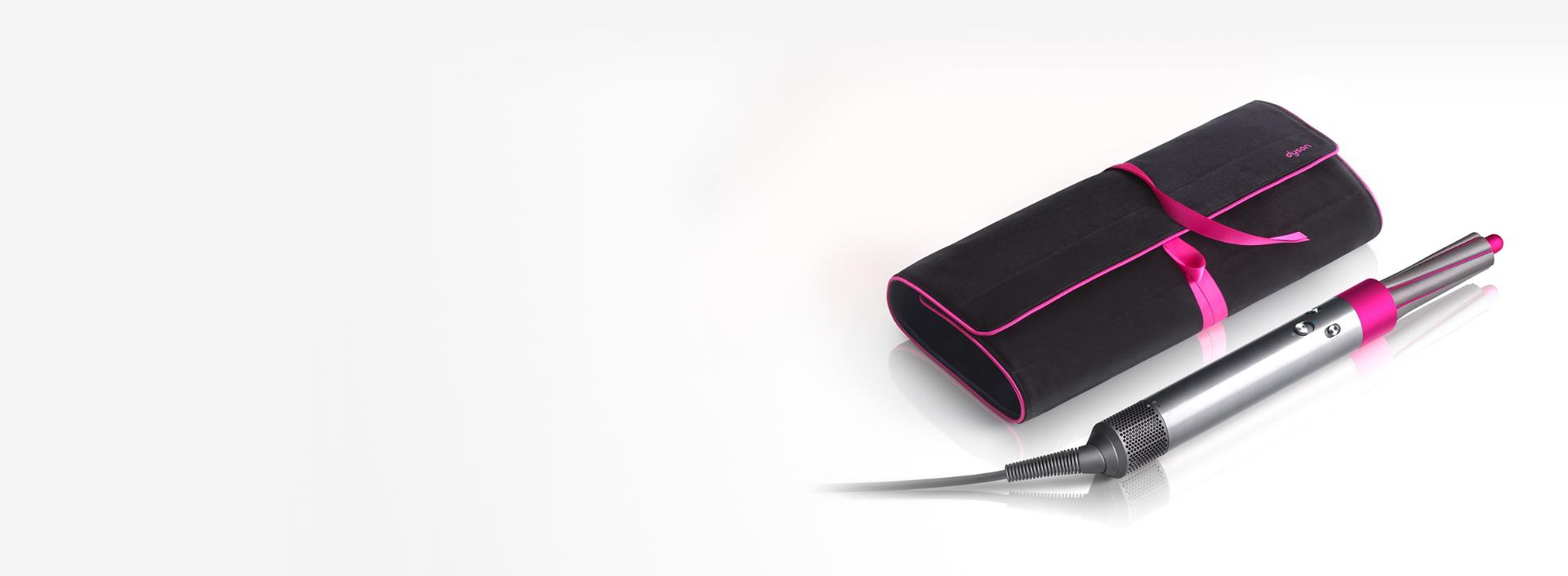 Dyson Airwrap styler with travel pouch