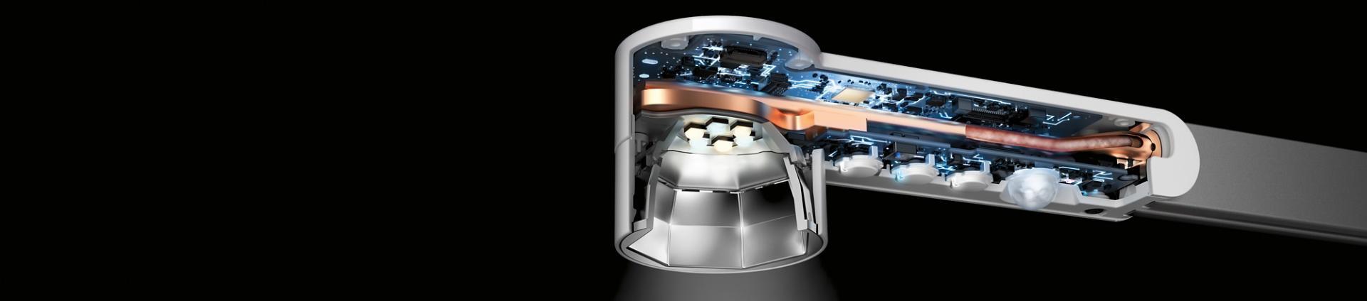 熱管科技應用於Dyson Lightcycle™枱燈
