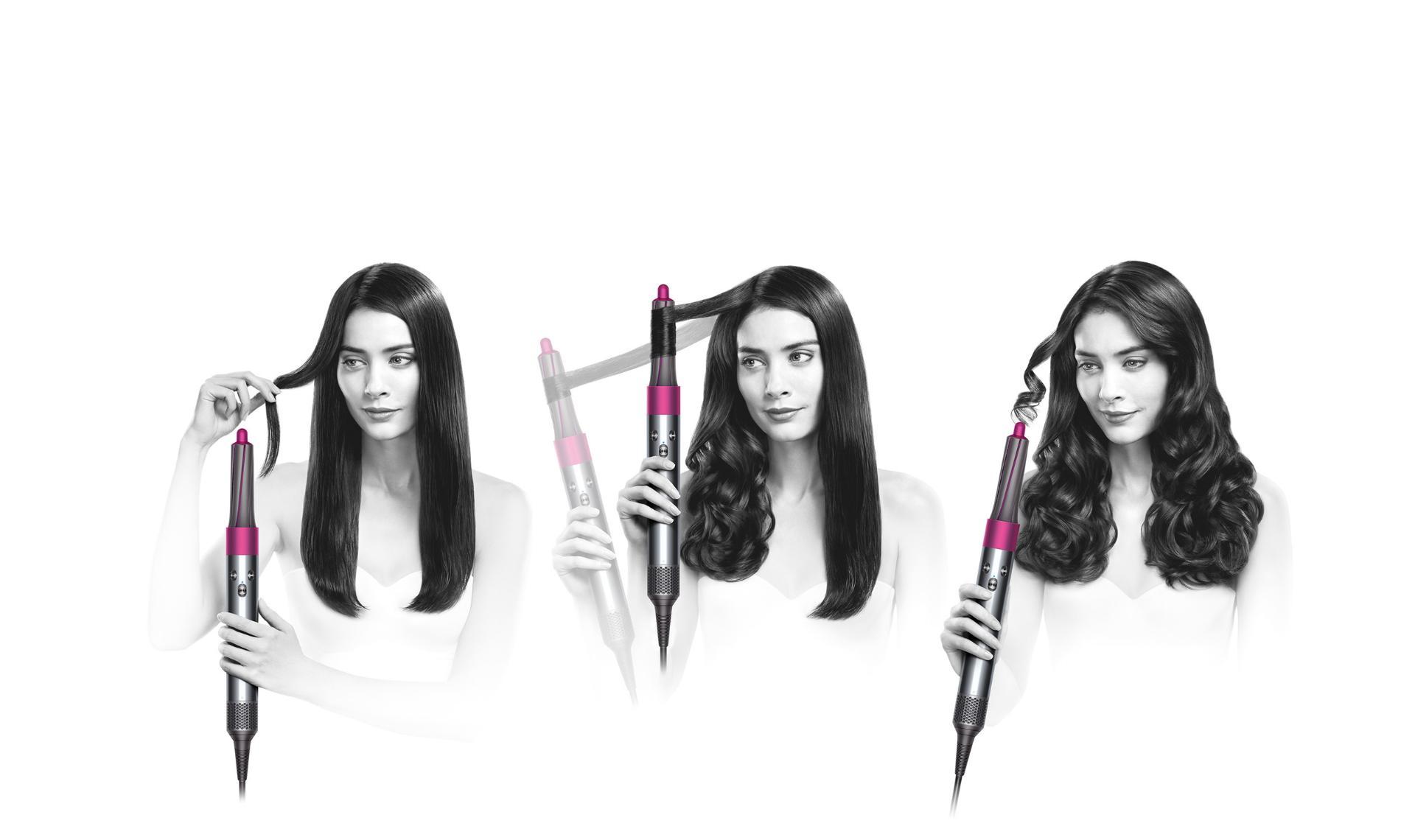 נגן את הסרטון:כדי לדעת כיצד לסלס את השיער שלך עם מעצב השיער dyson airwrap