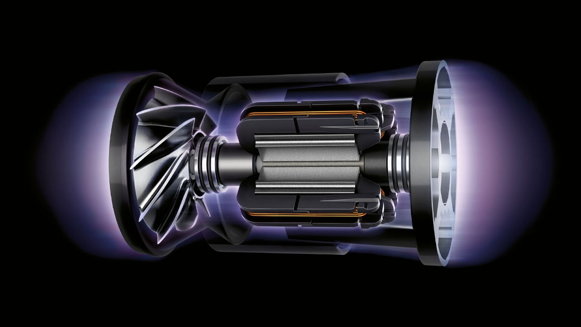 Powered by the Dyson digital motor V10