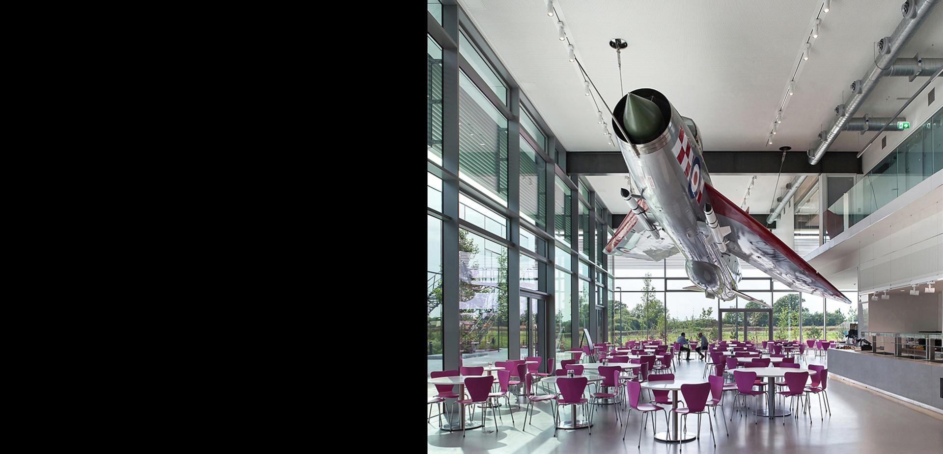 Dyson café with English Electric Lightning jet