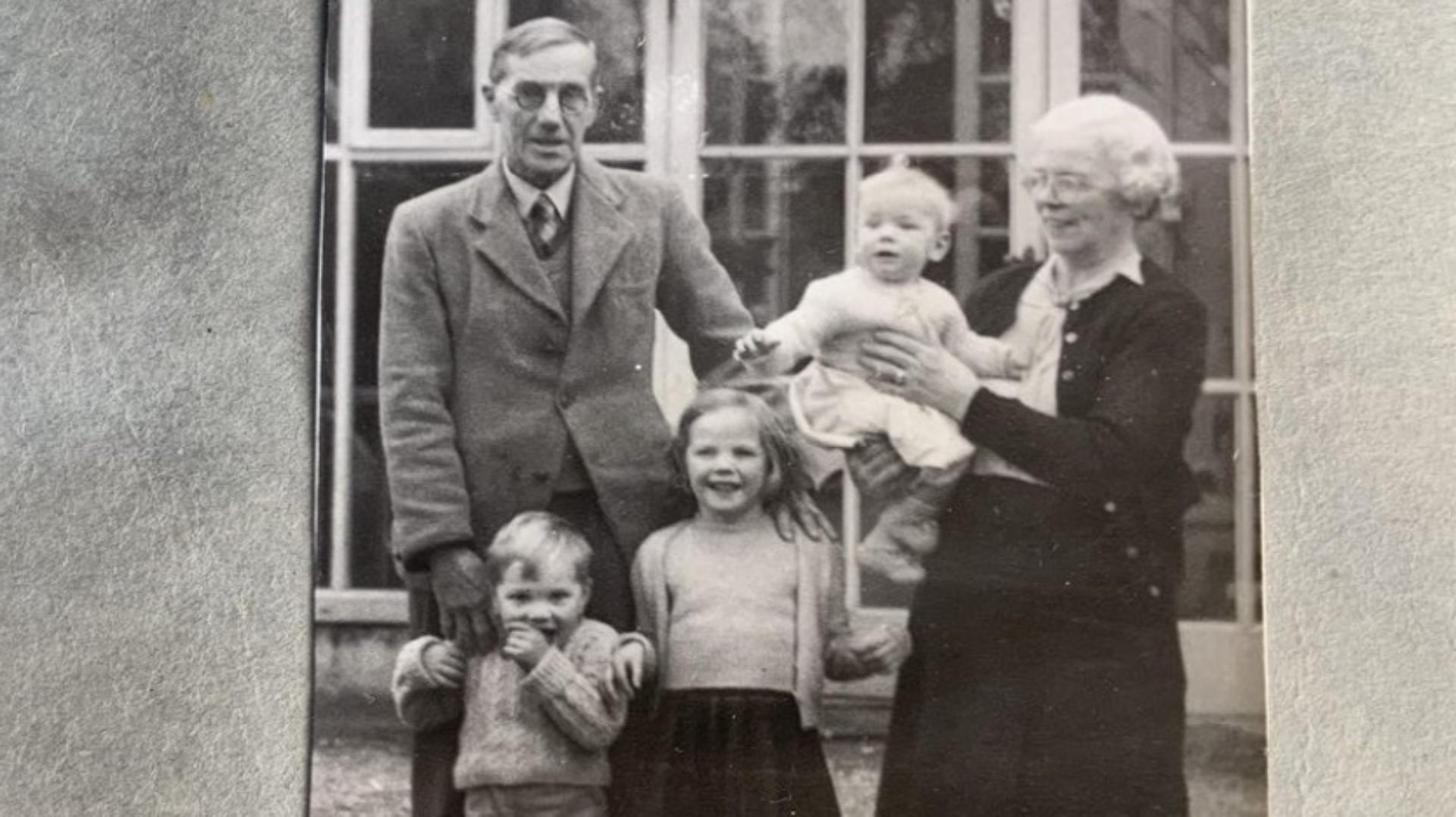The Dyson Family in Norfolk 1948