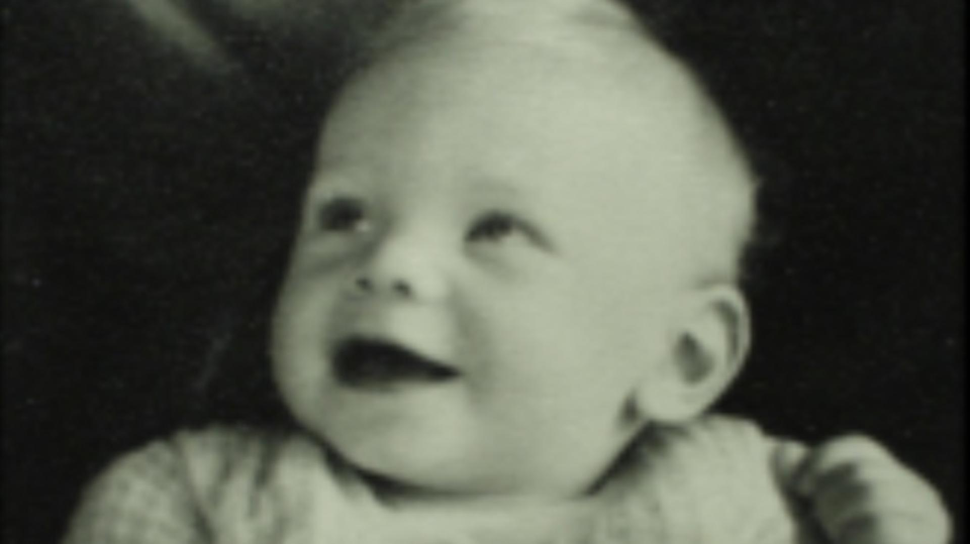 A smiling baby James Dyson