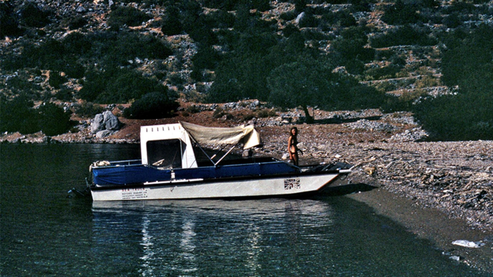 The Sea Truck and Deidre Dyson