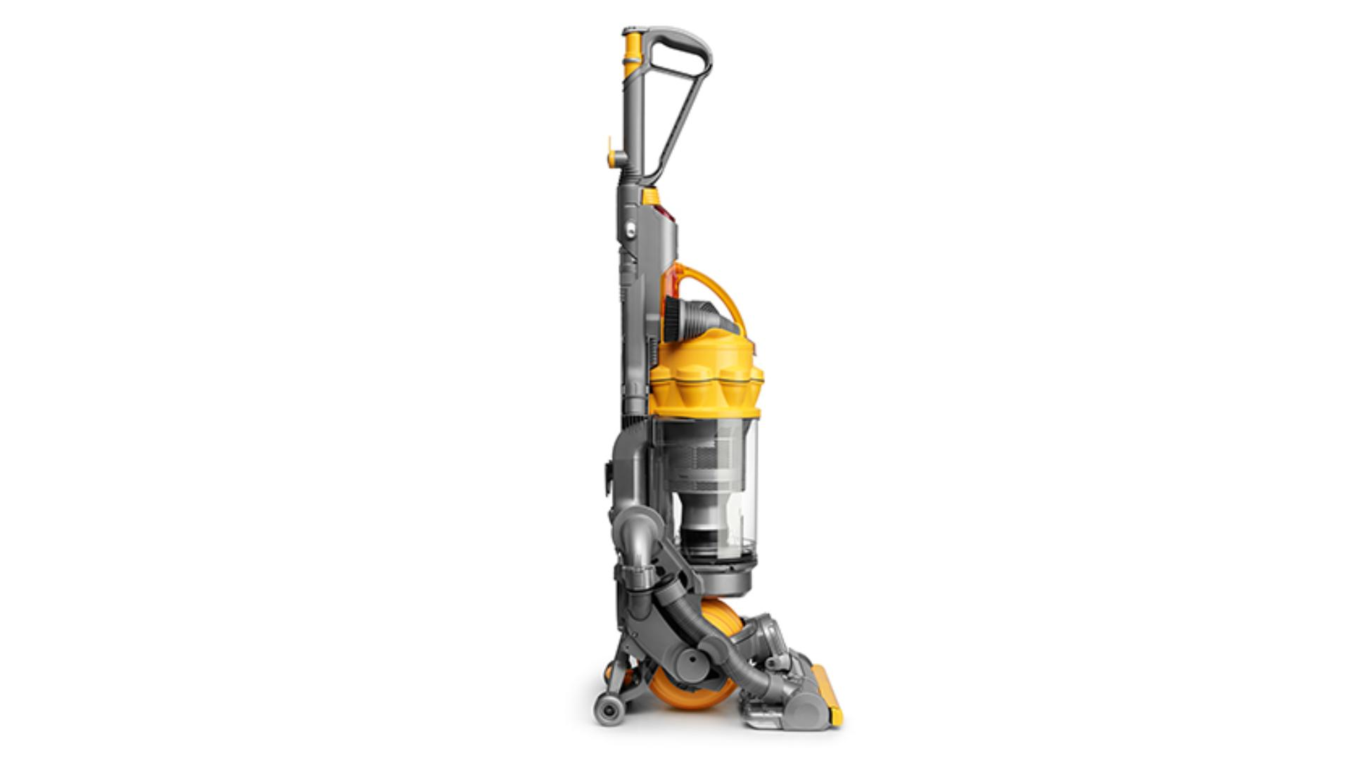 Side view of the DC15 upright vacuum