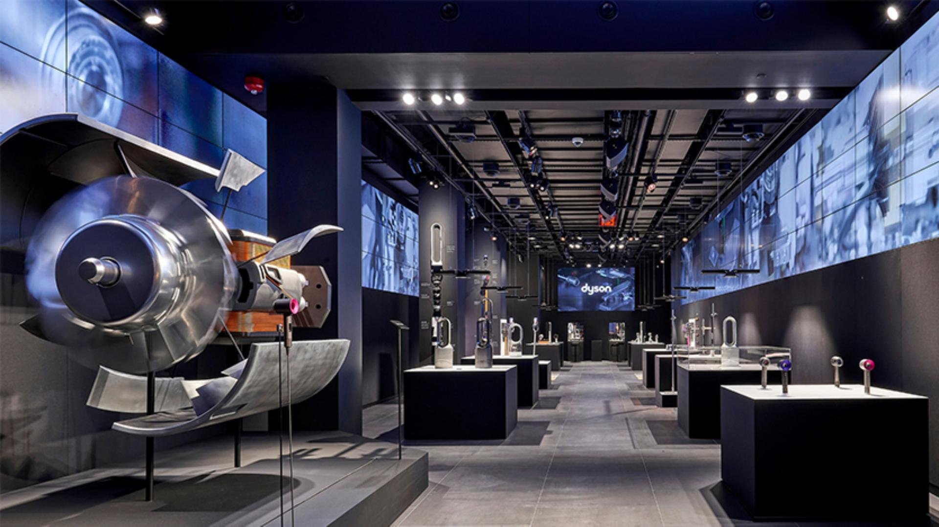 Inside the Dyson Demo Store in New York