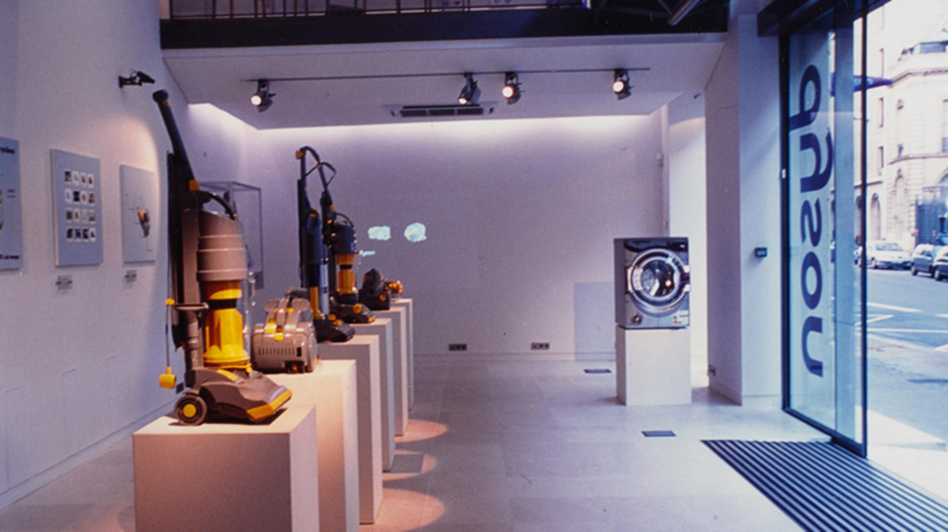 Inside the first Dyson store in Paris