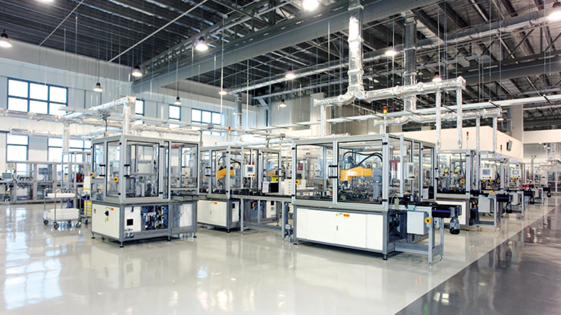 Sealed units within the Singapore Advanced Manufacturing facility