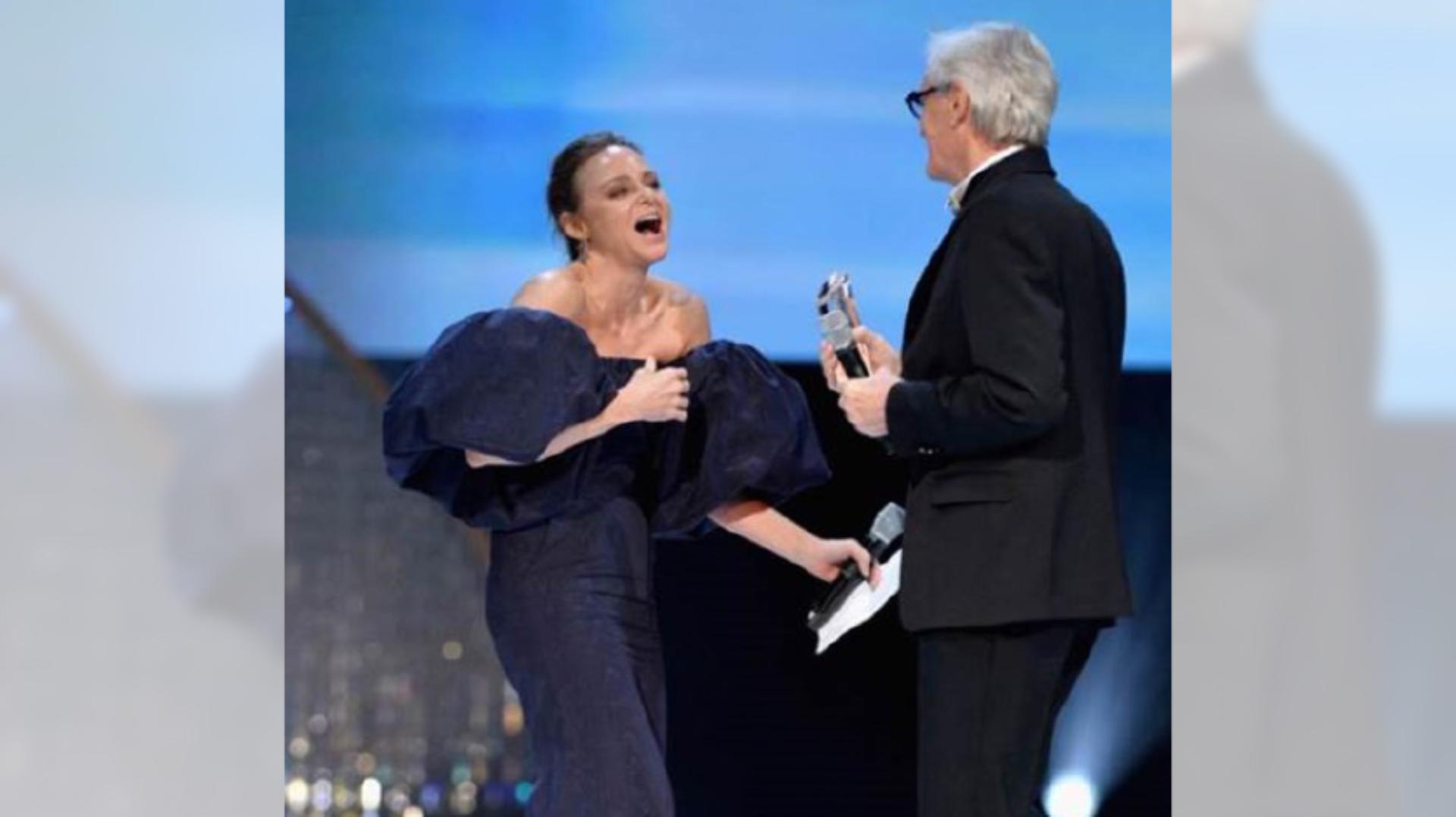 James Dyson and Stella McCartney, at the British Fashion Awards