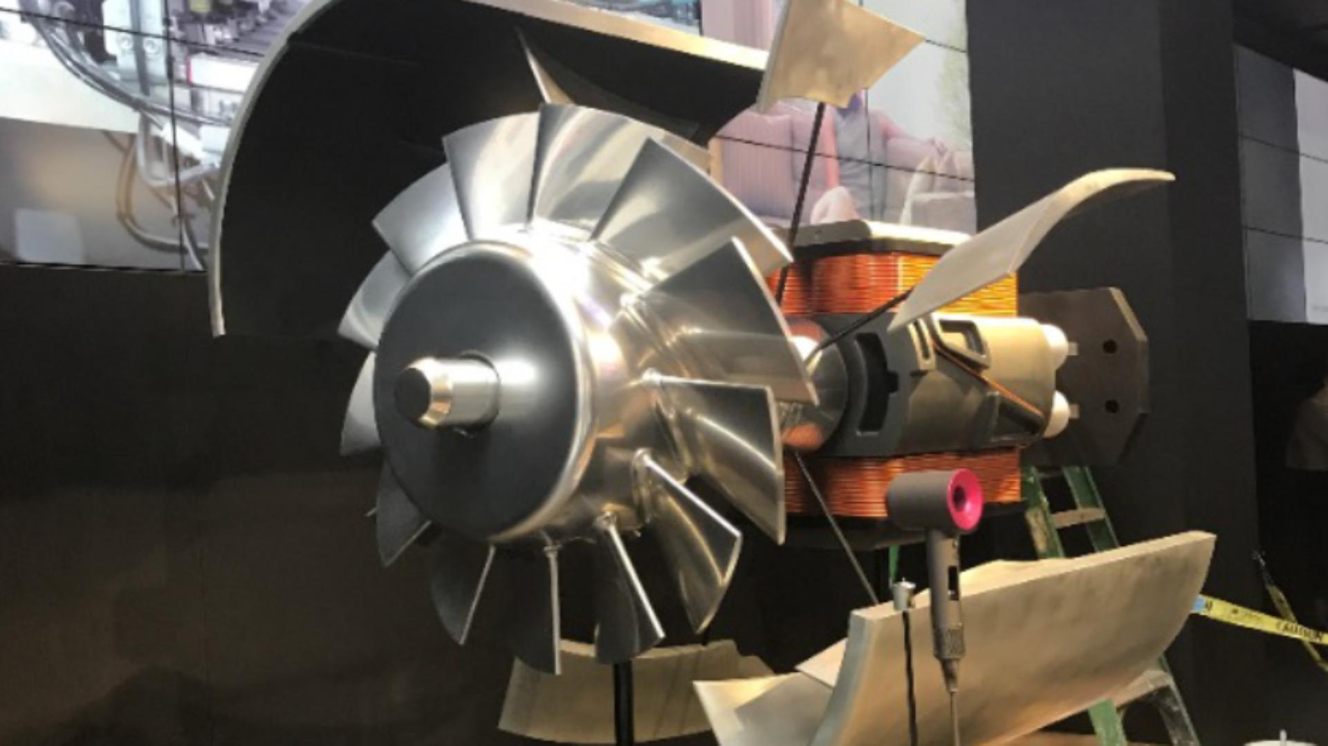 Scaled-up model of a Dyson Digital Motor