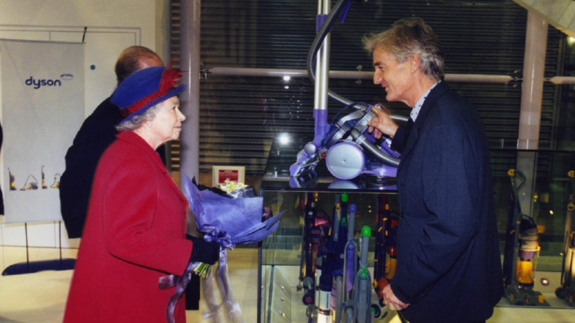 James Dyson meeting The Queen and The Duke of Edinburgh, 2001