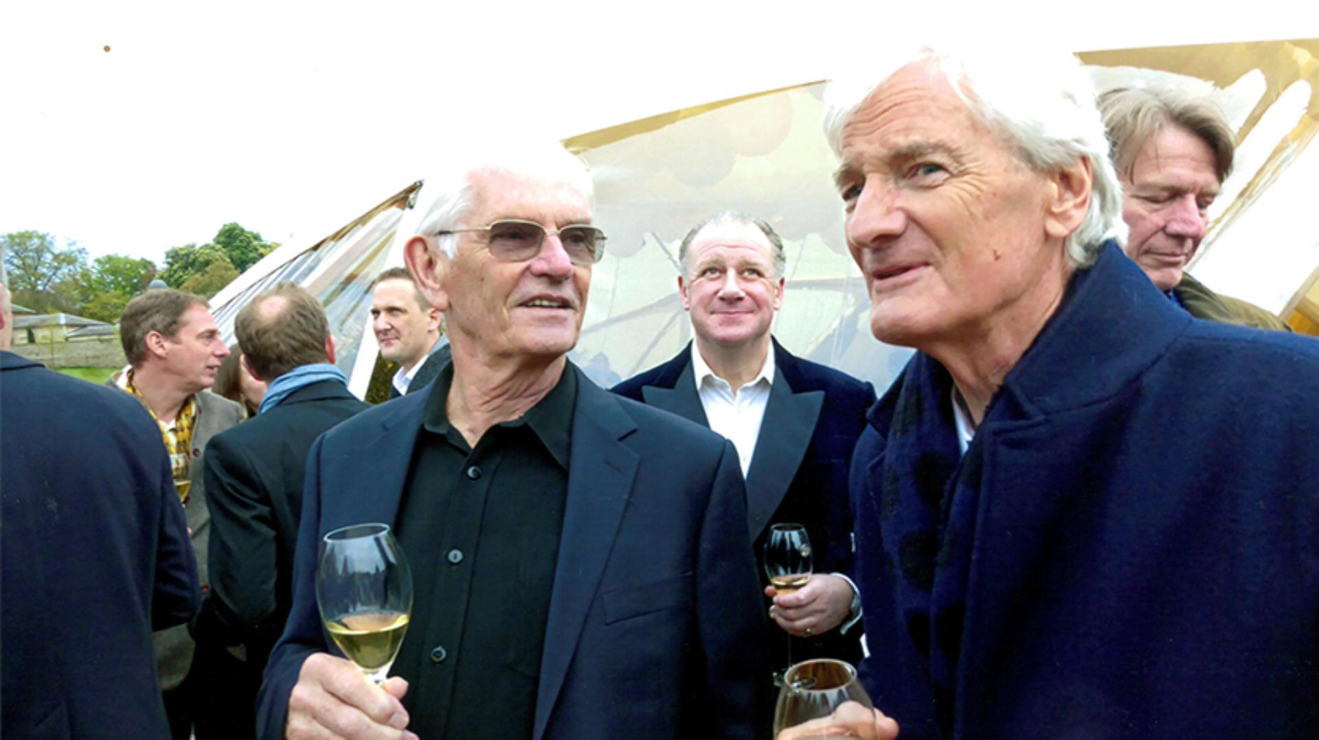 James Dyson with Ross Cameron