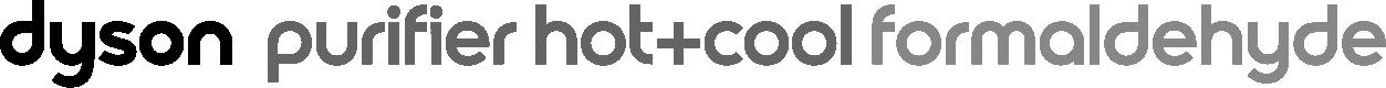 Dyson purifier hot cool formaldehyde logo