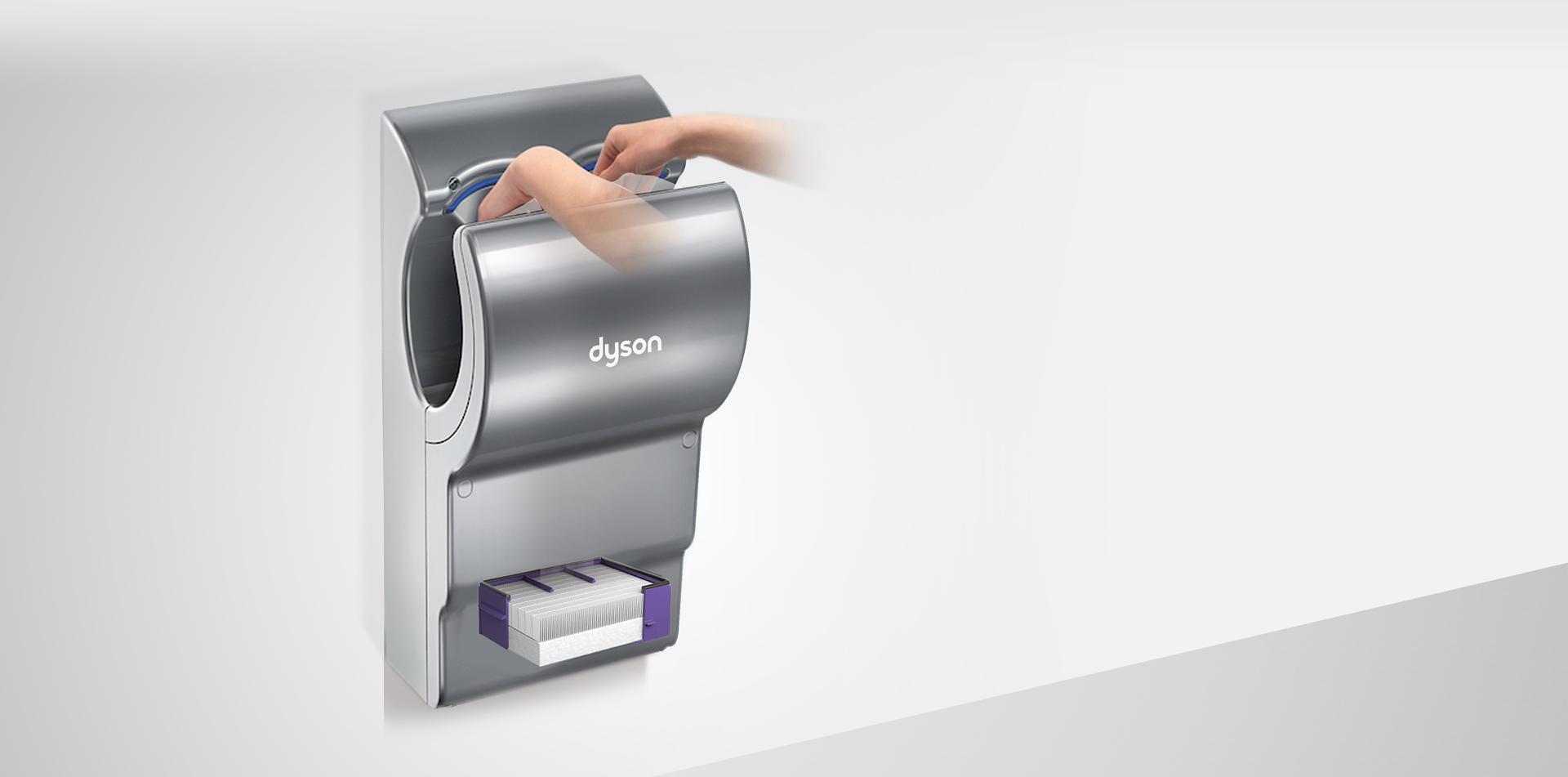 Seca las manos con aire más limpio
