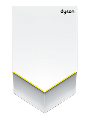 Dyson Airblade V hand dryer (White)