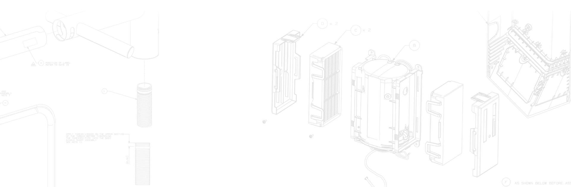 مخطط منتجات دايسون